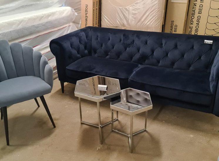 Chester stiliaus sofa